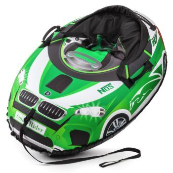 Sanki_Vatrushka_Tubing_Small_Rider_Snow_Cars_BW_Green_result