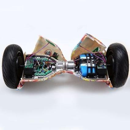 Гироскутер Smart Balance  Голубой Космос / Звездное небо 10,5 APP самобалансир (Samsung)