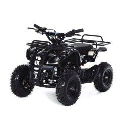 Квадроцикл детский бензиновый MOTAX ATV Х-16 Мини-Гризли черный (механический стартер, задний привод, до 45 км/ч)