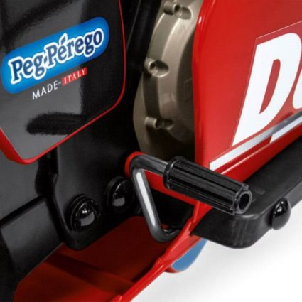 Электромотоцикл Peg-Perego Ducati GP (до 7,6 км/ч, колеса резиновая накладка, аудио эффекты)