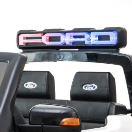 Электромобиль Ford Ranger Raptor черный (2х местный, колеса резина, кресло кожа, пульт, музыка)