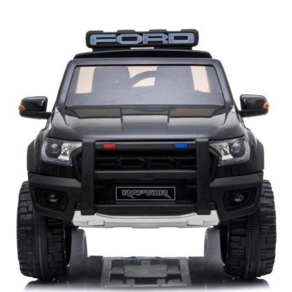 Электромобиль Ford Ranger Raptor police (2х местный, колеса резина, кресло кожа, пульт, музыка)
